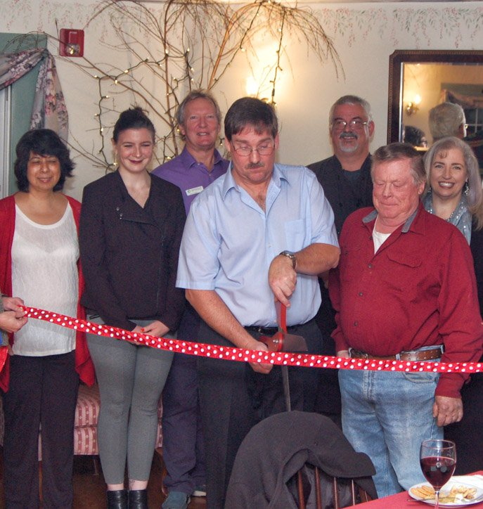 Kitchen opening by chamber of commerce